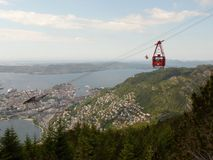 Paisagens de Noruega Fotografia de Stock Royalty Free
