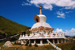 Paisagens de Tibet Fotografia de Stock