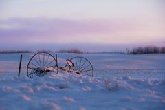 Paisagens do inverno Fotografia de Stock