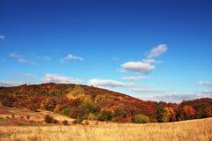 Paisagens do outono Fotografia de Stock