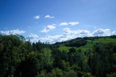 Paisagens em Urbino Fotografia de Stock