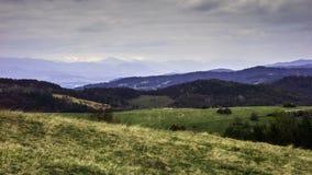 Paisagens eslovacas Imagens de Stock