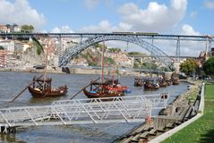 Paisagens Geres/Douro Royalty-vrije Stock Fotografie