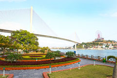 Paisagens longas do Ha Bay City, Vietname Ásia Fotografia de Stock