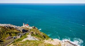 Paisagens nacionais do litoral de Reyes do ponto em Califórnia fotos de stock royalty free