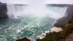 Paisagens Niagara Falls das cachoeiras, Toronto foto de stock