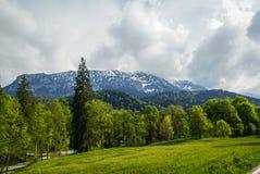 Paisagens no parque Linderhoff, Baviera, Alemanha Fotos de Stock