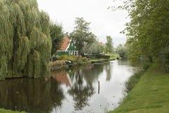 Paisagens nos Países Baixos, paisagens holandesas foto de stock royalty free