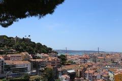 Paisagens surpreendentes de Lisboa Portugal Fotos de Stock