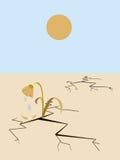 Paisaje árido libre illustration