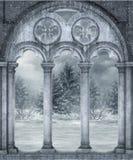 Paisaje 19 del invierno ilustración del vector