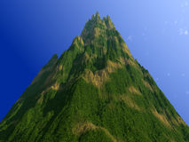 Paisaje 2 de la montaña Imagen de archivo libre de regalías