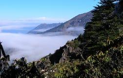 Paisaje 3 de la montaña de Mianning Fotografía de archivo libre de regalías