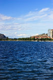 Paisaje 3 del lago Fotos de archivo libres de regalías