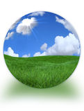 paisaje 3D Morphed en la tierra del planeta