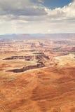 Paisaje abandonado en el parque nacional de Canyonlands Imagen de archivo libre de regalías
