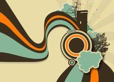 Paisaje abstracto Imagenes de archivo