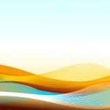 Paisaje abstracto Foto de archivo libre de regalías