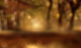 Paisaje abstracto del otoño Fotografía de archivo libre de regalías