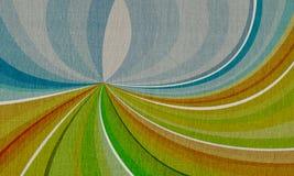 Paisaje abstracto en lona Fotografía de archivo libre de regalías