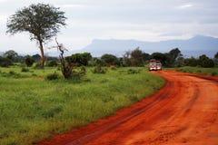 Paisaje africano Fotografía de archivo