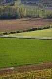Paisaje agrícola Imagen de archivo libre de regalías