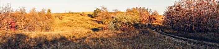 Paisaje agrícola del otoño en Nueva Inglaterra, los E.E.U.U. imagen de archivo