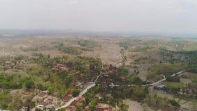 Paisaje agr?cola en Indonesia almacen de metraje de vídeo