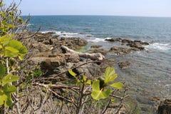 """Paisaje agradable en el  del coast†del """"blue en Francia Imagen de archivo"""