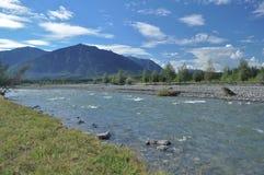 Paisaje al norte del río. Fotografía de archivo libre de regalías
