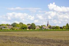 Paisaje alemán del campo Foto de archivo libre de regalías