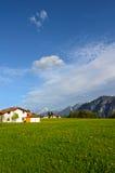 Paisaje alpestre en Austria imagen de archivo libre de regalías