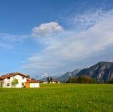 Paisaje alpestre en Austria foto de archivo