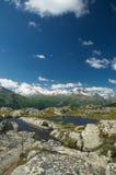 Paisaje alpestre majestuoso foto de archivo
