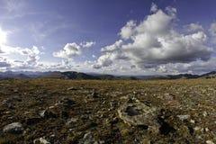 Paisaje alpino Foto de archivo
