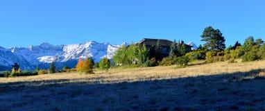 Paisaje alpino de Colorado Foto de archivo libre de regalías