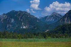 Paisaje alpino hermoso imagen de archivo libre de regalías