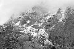 Paisaje alpino, Sangre de Cristo Range, Rocky Mountains en Colorado Fotografía de archivo libre de regalías