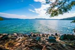 Paisaje alrededor de la garganta del jocasse del lago Fotos de archivo