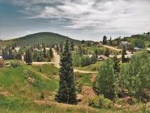 Paisaje alrededor del vencedor, Colorado fotografía de archivo