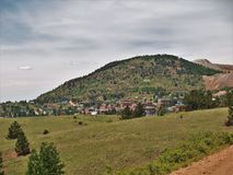 Paisaje alrededor del vencedor, Colorado imagen de archivo libre de regalías