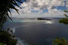 Paisaje amplio de Samoa Fotografía de archivo
