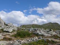 Paisaje Andalsnes Nesaksla de Noruega Foto de archivo libre de regalías