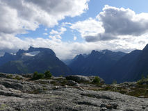 Paisaje Andalsnes Nesaksla de Noruega Fotografía de archivo libre de regalías