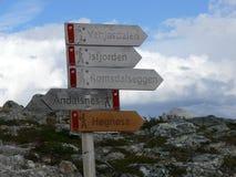 Paisaje Andalsnes Nesaksla de Noruega Imágenes de archivo libres de regalías