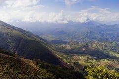 Paisaje andino Fotografía de archivo libre de regalías