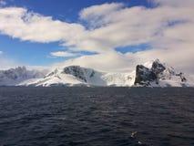Paisaje antártico Foto de archivo