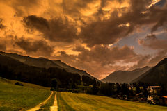 Paisaje apocalíptico Foto de archivo libre de regalías