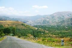 Paisaje armenio Foto de archivo