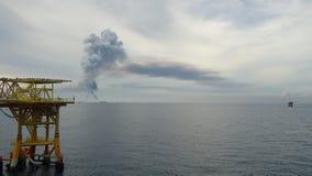 Paisaje artificial del mar Fotografía de archivo libre de regalías